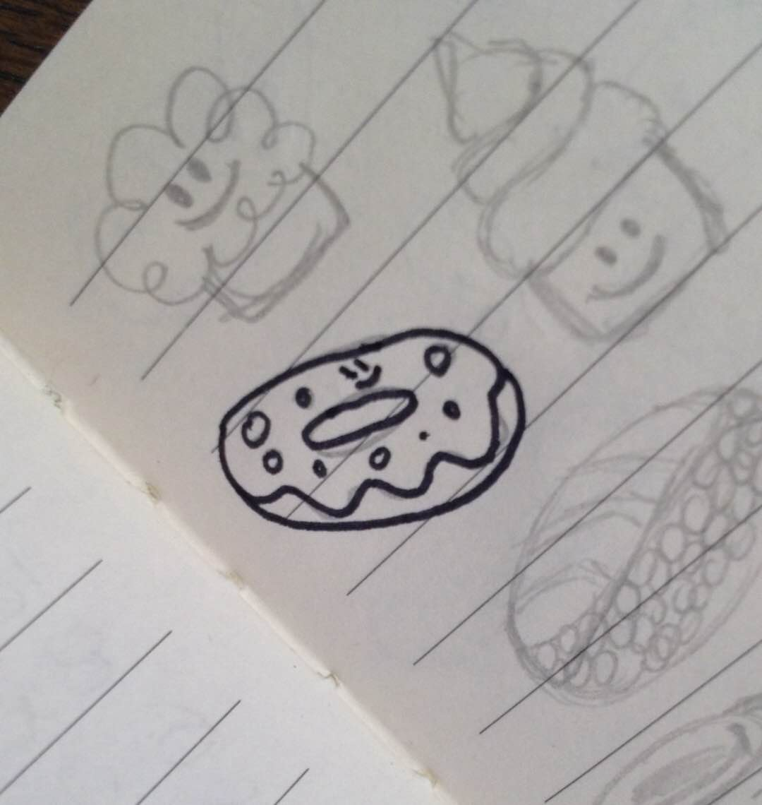 Picture of the original doodle